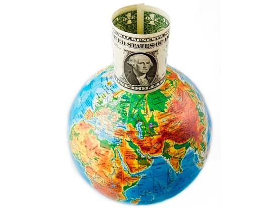 dollar-globe